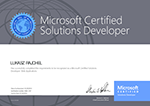 Microsoft Certified Solutions Developer MCSD Web Applications